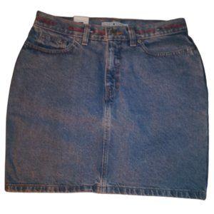 Tommy Hilfiger Denim Skirt NWT Size 8